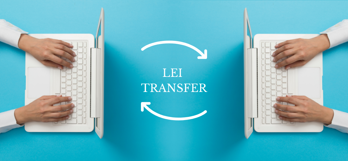 LEI Code Transfer from one service provider to another